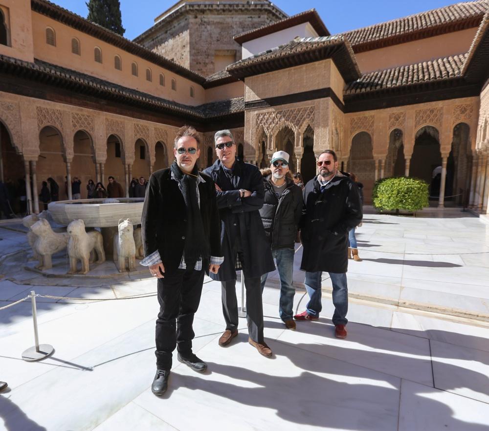 Loquillo, un paseo por la Alhambra