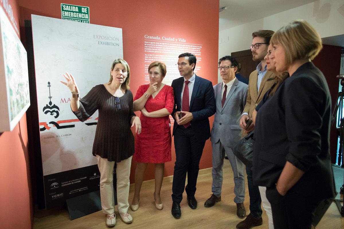 La exposición Madinat Garnata, ciudad y vida en el Corral del Carbón muestra la vida cotidiana de la Granada andalusí.
