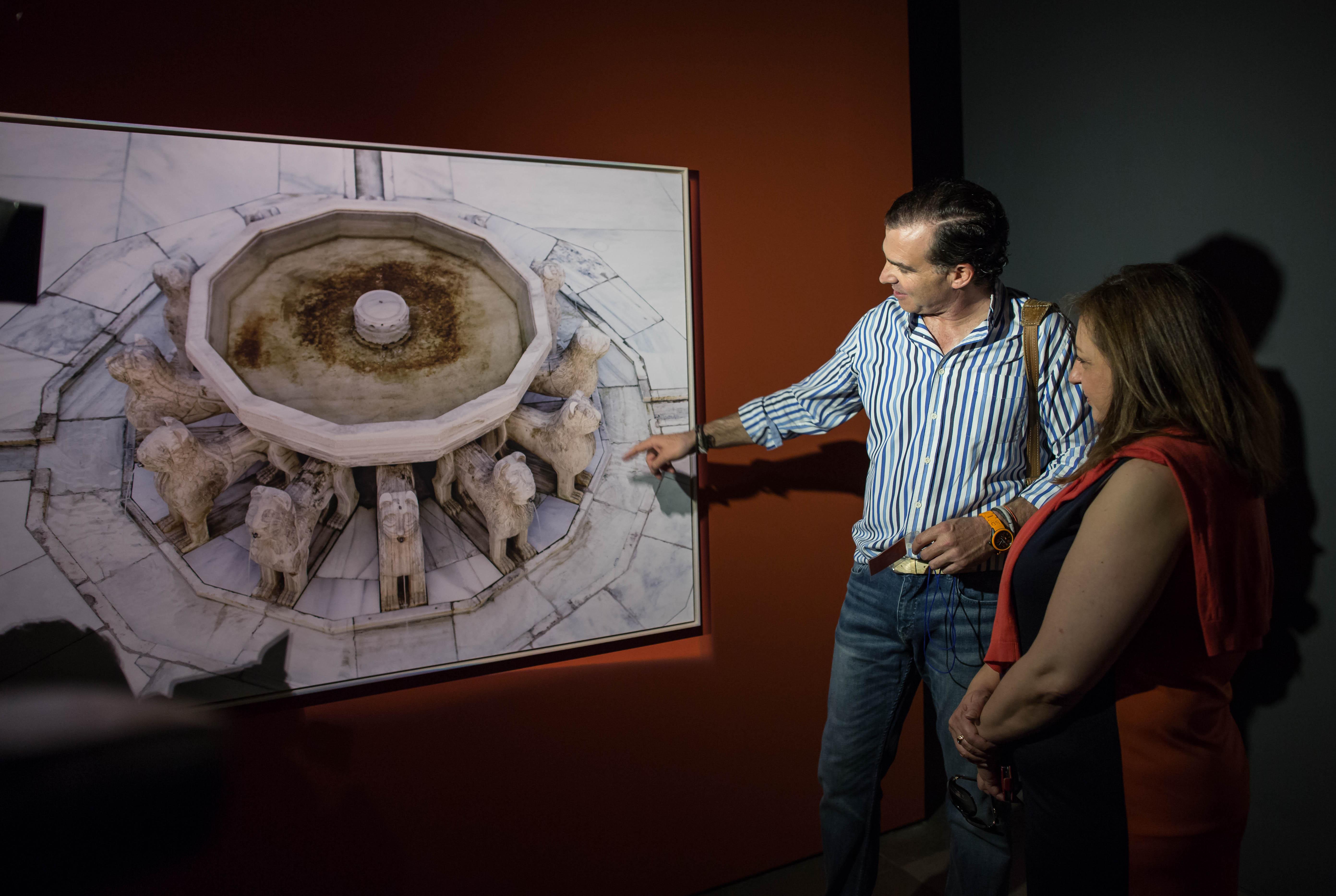 Una visión inédita de la Alhambra a través de la mirada del fotógrafo Fernando Manso