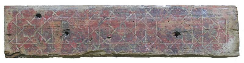 Dintel decorado con geometria del Mexuar