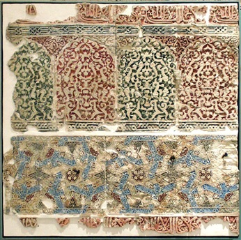 Panel de Yesería del Bahw de la Dar Al-Manlaka Al-Sa ´Ida (Generalife)