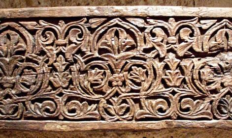 Jacenas talladas califales