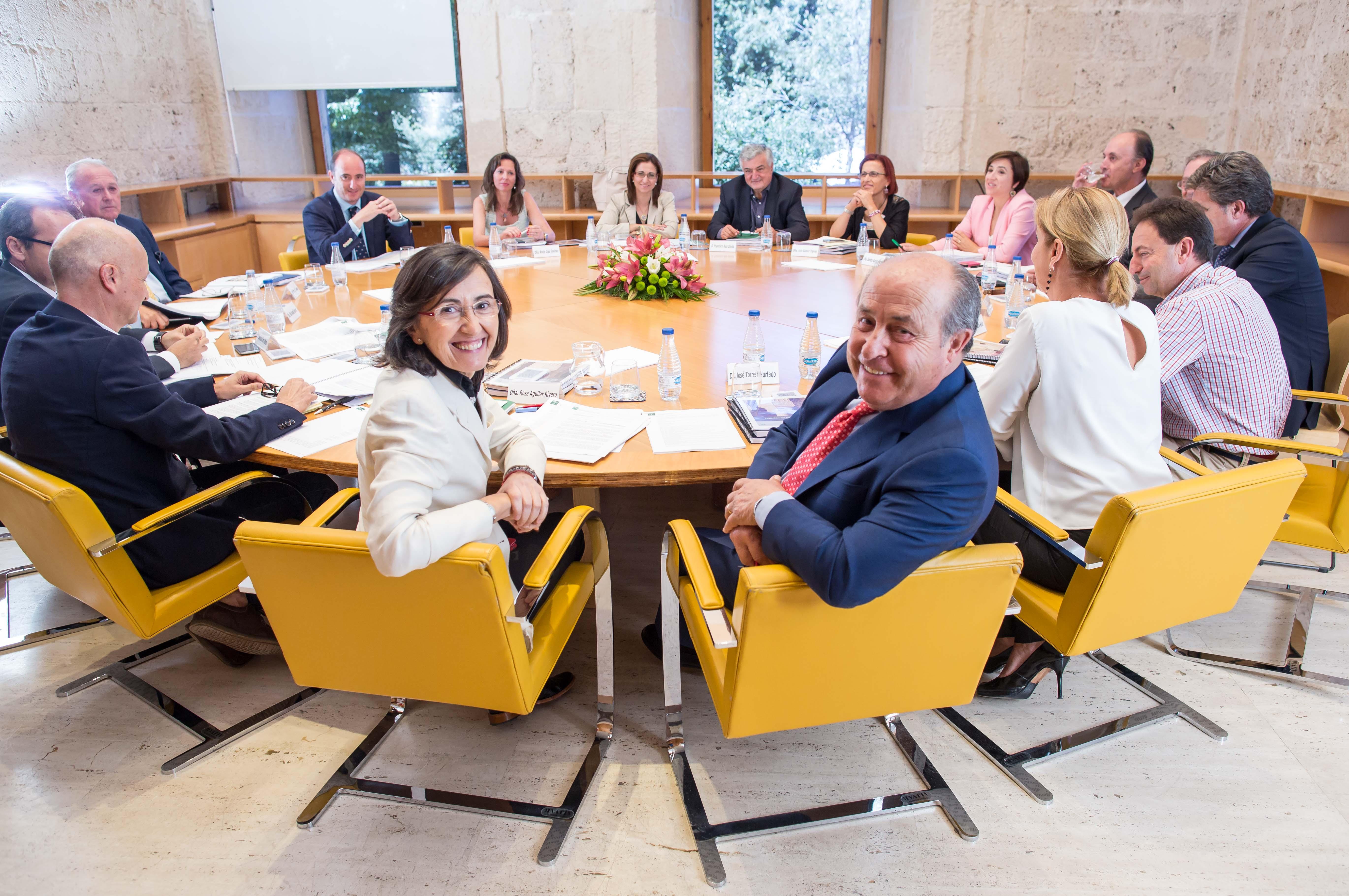 La Consejera de Cultura preside la reunión del pleno del Patronato de la Alhambra y Generalife