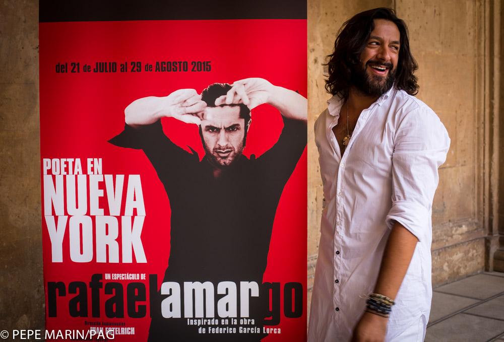 La consejería de Cultura estrena 'Poeta en Nueva York' de Rafael Amargo en el teatro del Generalife el 20 de julio