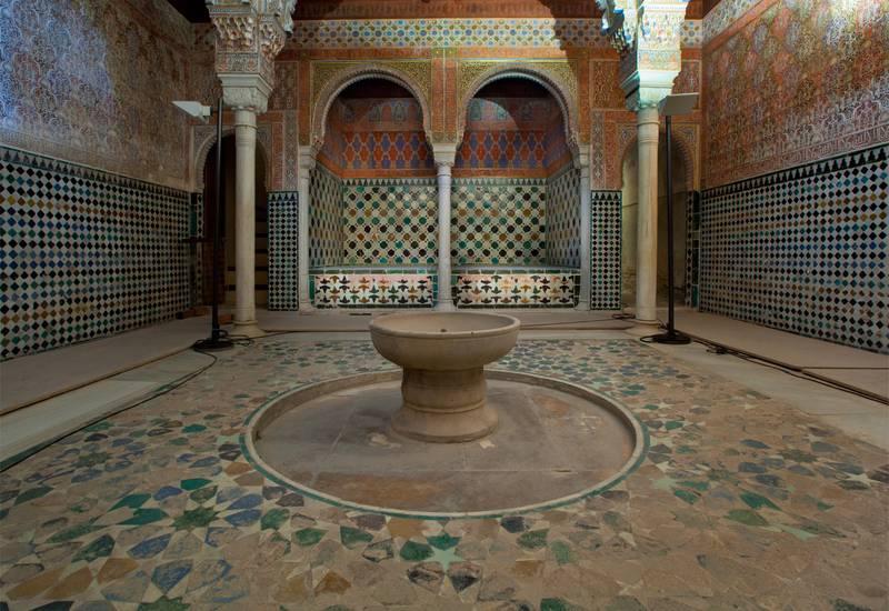 """Sala de las Camas del baño de comares """"BAYT AL- MASLAJ"""""""