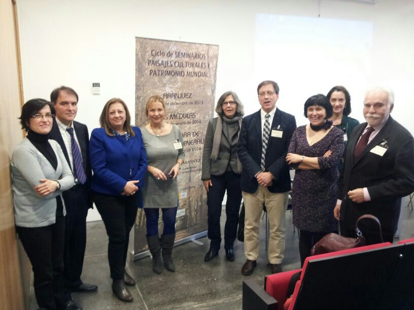 La Alhambra participa en Las Médulas en un seminario internacional sobre paisajes culturales