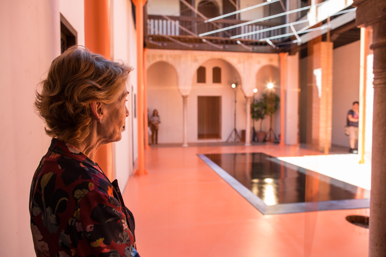 El Centro Guerrero y la Alhambra muestran una retrospectiva de las obras de Soledad Sevilla
