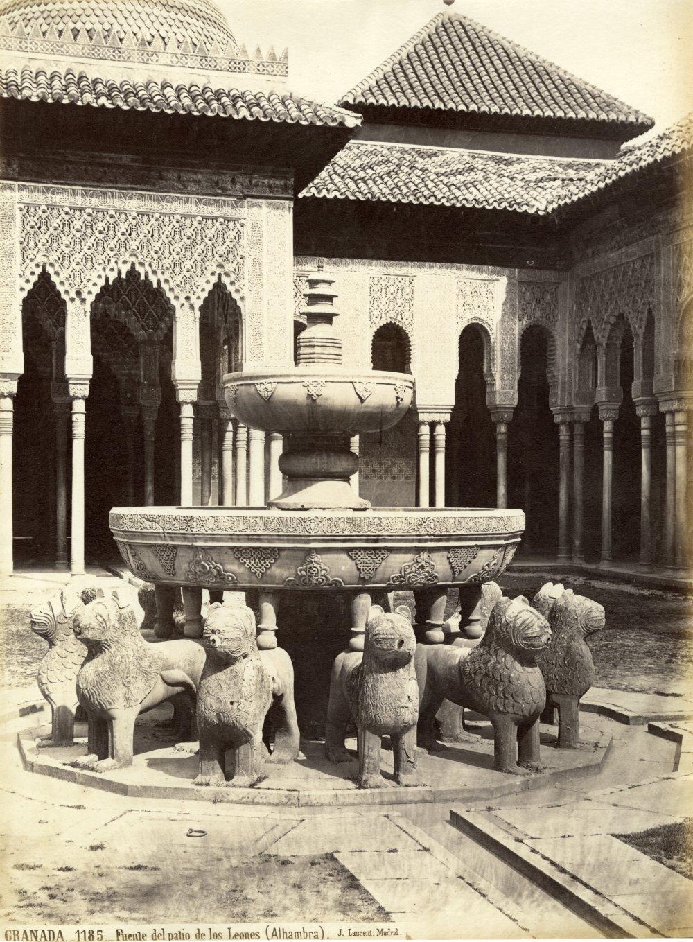 Surtidor de la segunda taza de la Fuente de los Leones, 1837