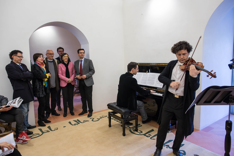 Rosa Aguilar presenta la Torre de la Justicia  como nuevo espacio cultural de la Alhambra