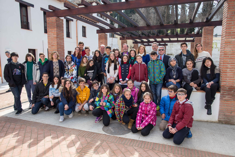 Escolares de Granada participan en un proyecto piloto para 'Vivir y sentir la Alhambra'