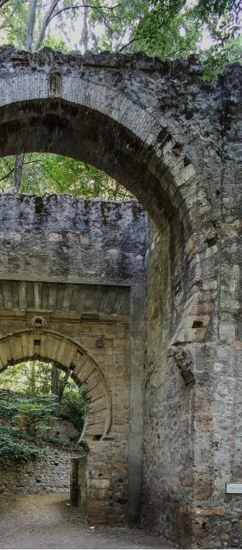 Arcos en La Alhambra