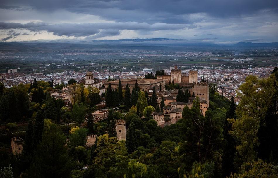 Alhambra desde la Silla del Moro