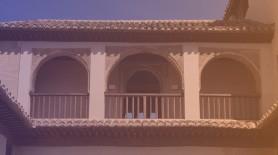 Balcón en la alhambra