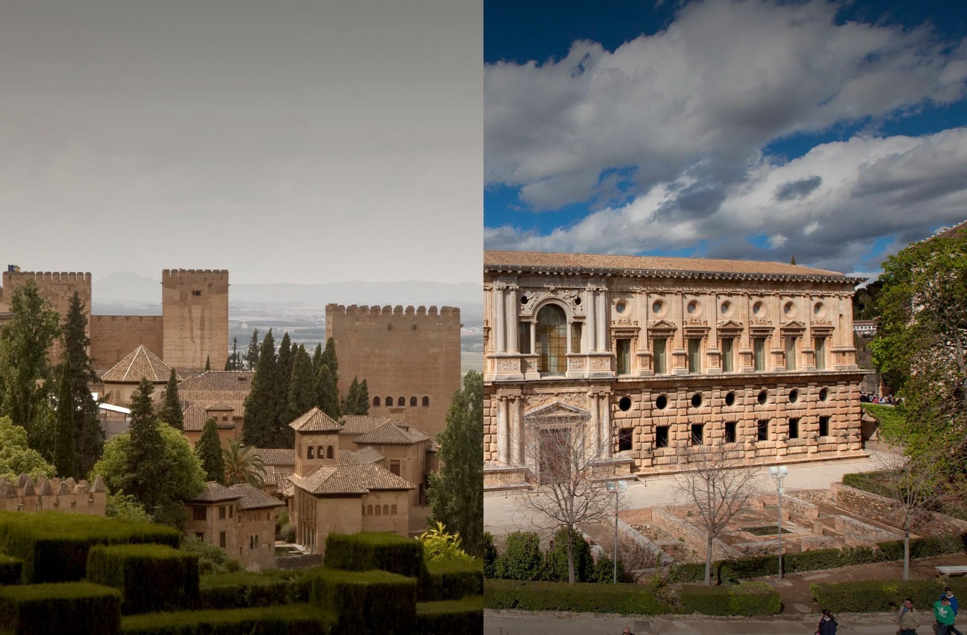 Alhambra y Palacio Carlos V