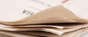 Newspaper sheets