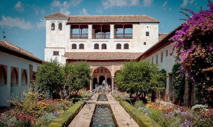 Descubrir los jardines de La Alhambra