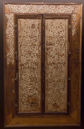 DOOR FROM THE CUPBOARD FROM THE PALACE OF CETTI MERIEN