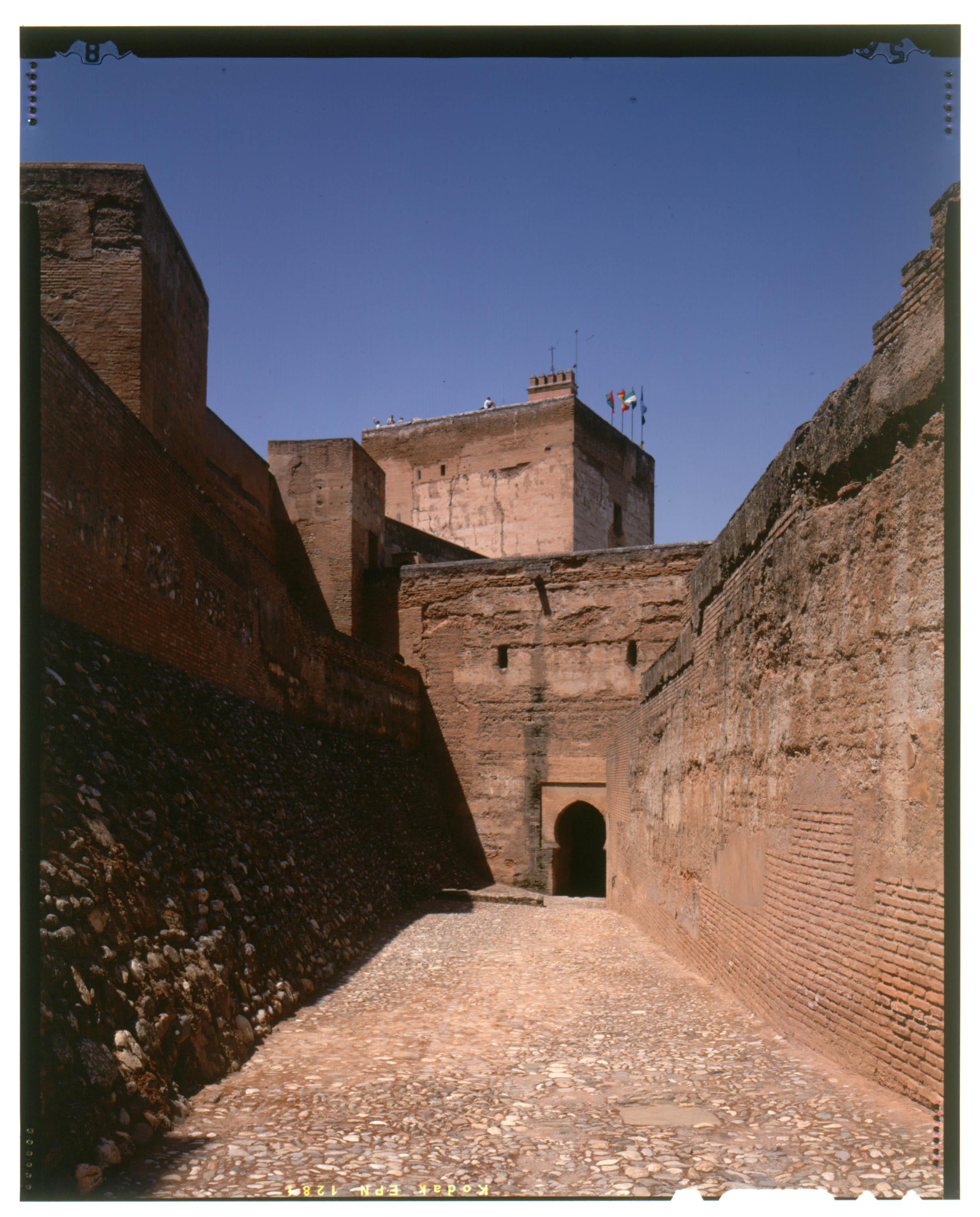 The sentry walk of the Alcazaba