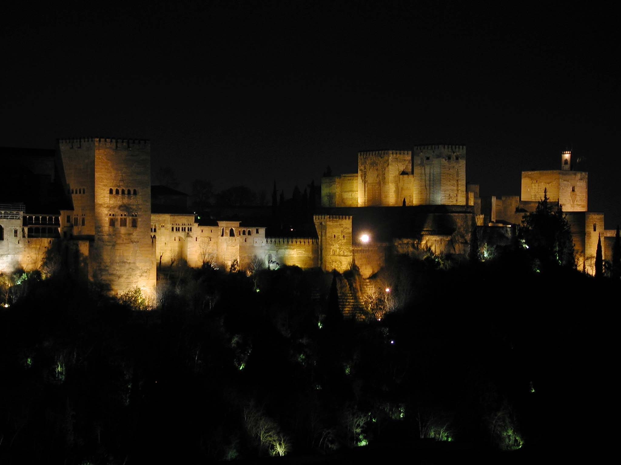 The Alhambra supports 'Earth Hour'