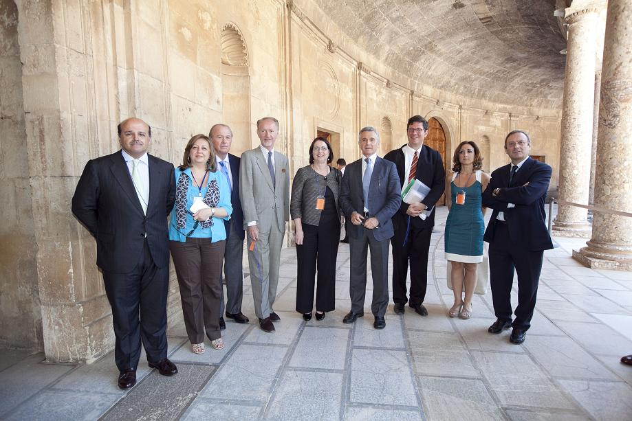 Ministry of Culture and World Monuments Fund, working for the promotion and preservation of the Alhambra