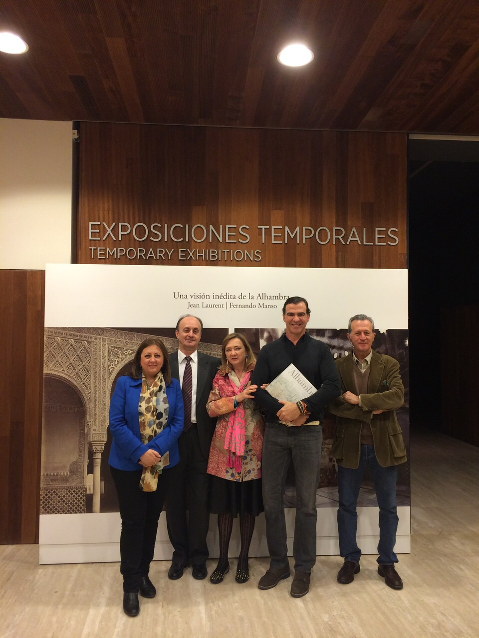 """Inauguration of the echibition entitled """"A hitherto unseen vision of the Alhambra"""" – Jean Laurent and Fernando Manso"""