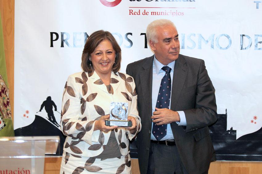 The Patronato de la Alhambra, Granada 2009 Tourism Award