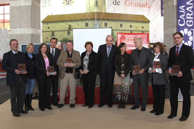 FIRPA gives a prize to the Alhambra for the 25 anniversary as a World Heritage Site