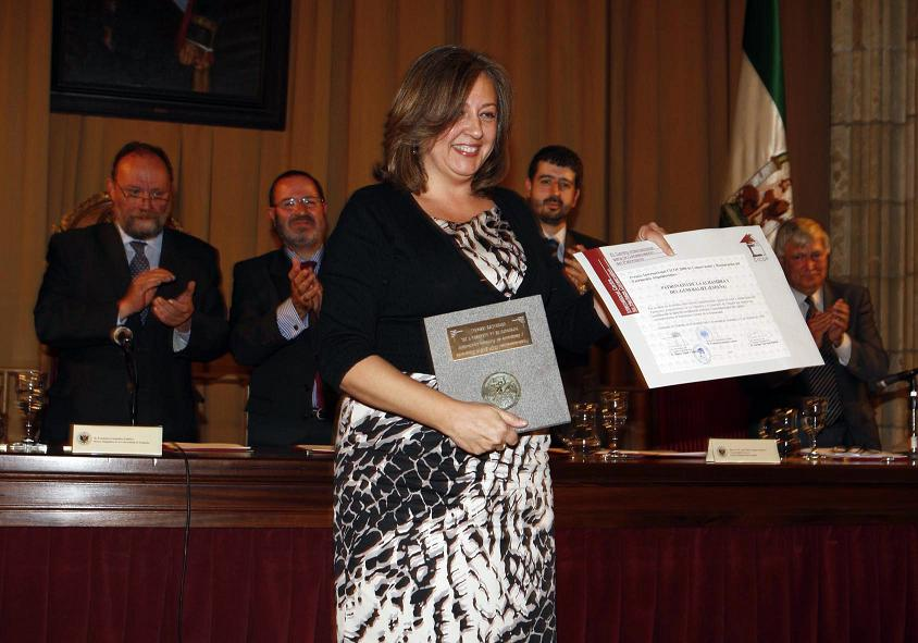The Alhambra rewarded for its cultural and Heritage efford