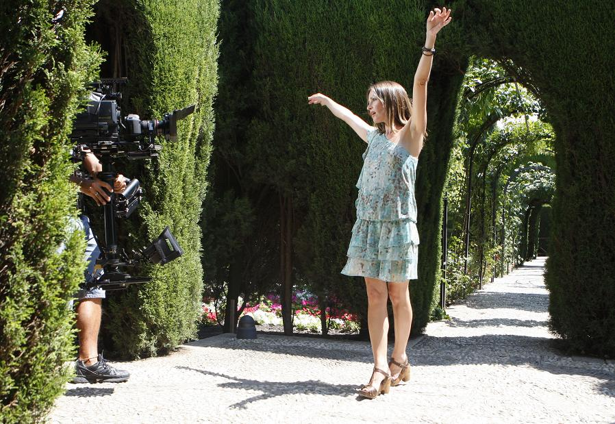 Sharon Corr has chosen the Alhambra as the setting for her new video clip