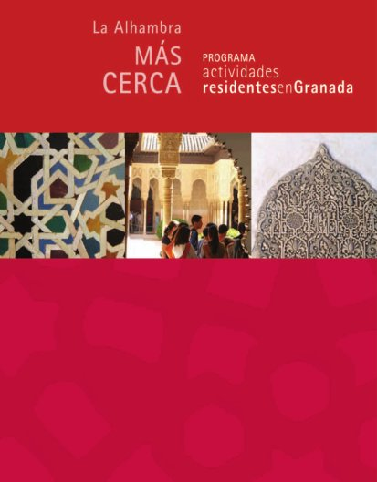 Free guided tours for Granada residents