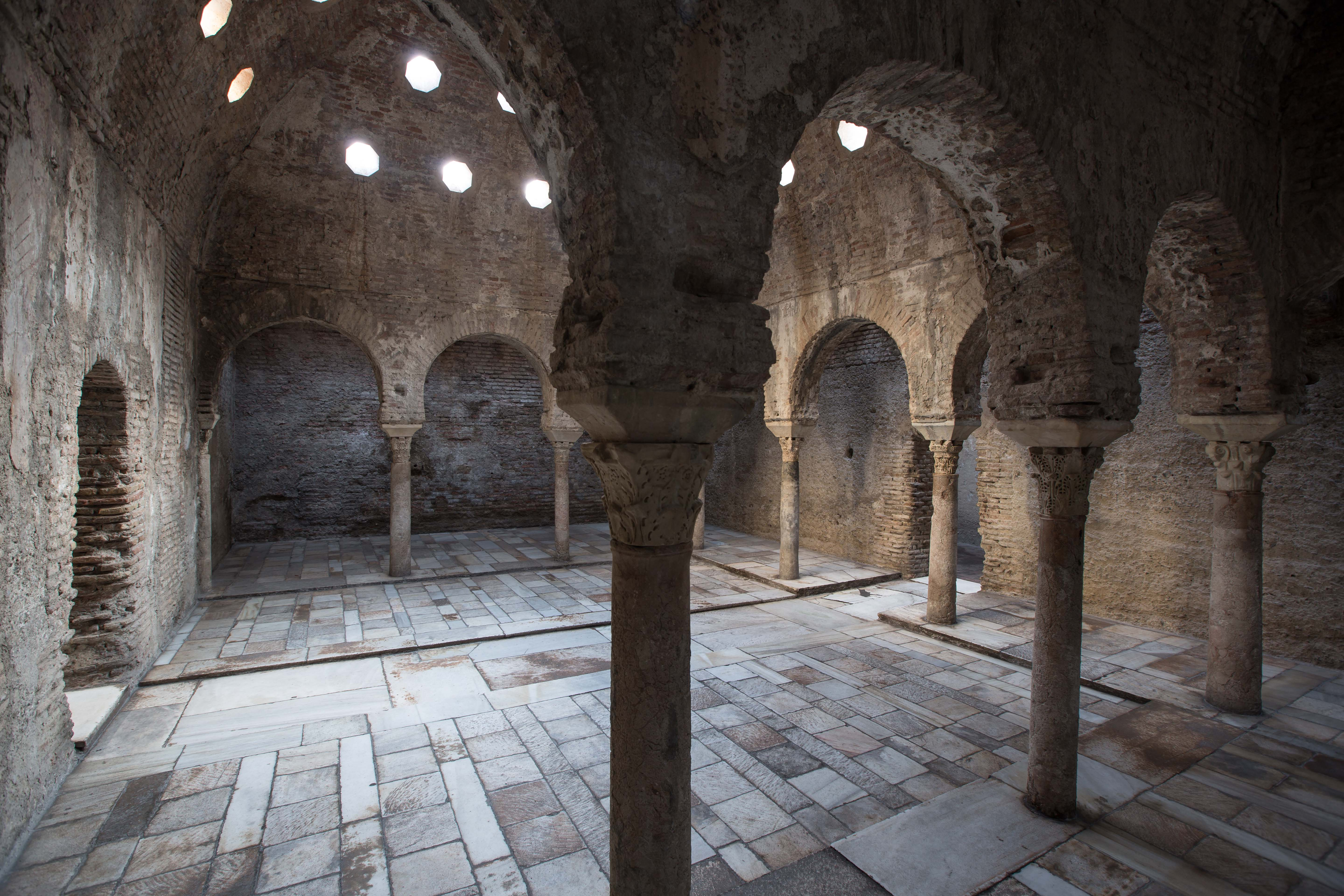 The Alhambra is opening the Bañuelo Arabic bath to the public after its restoration