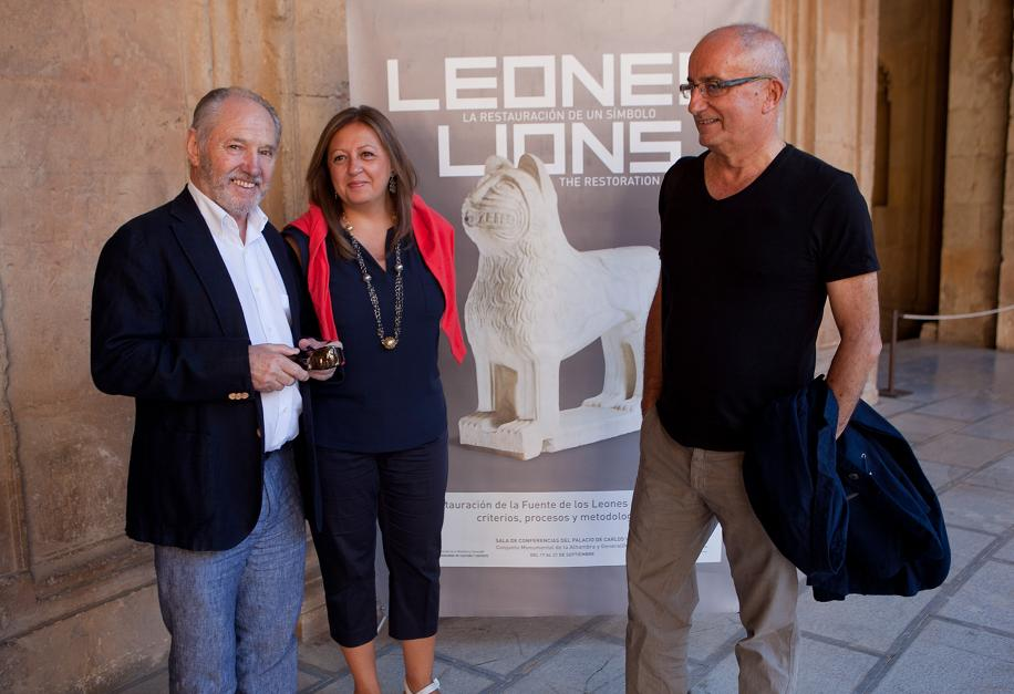 The Alhambra will reveal new details on the restoration of the Patio de los Leones