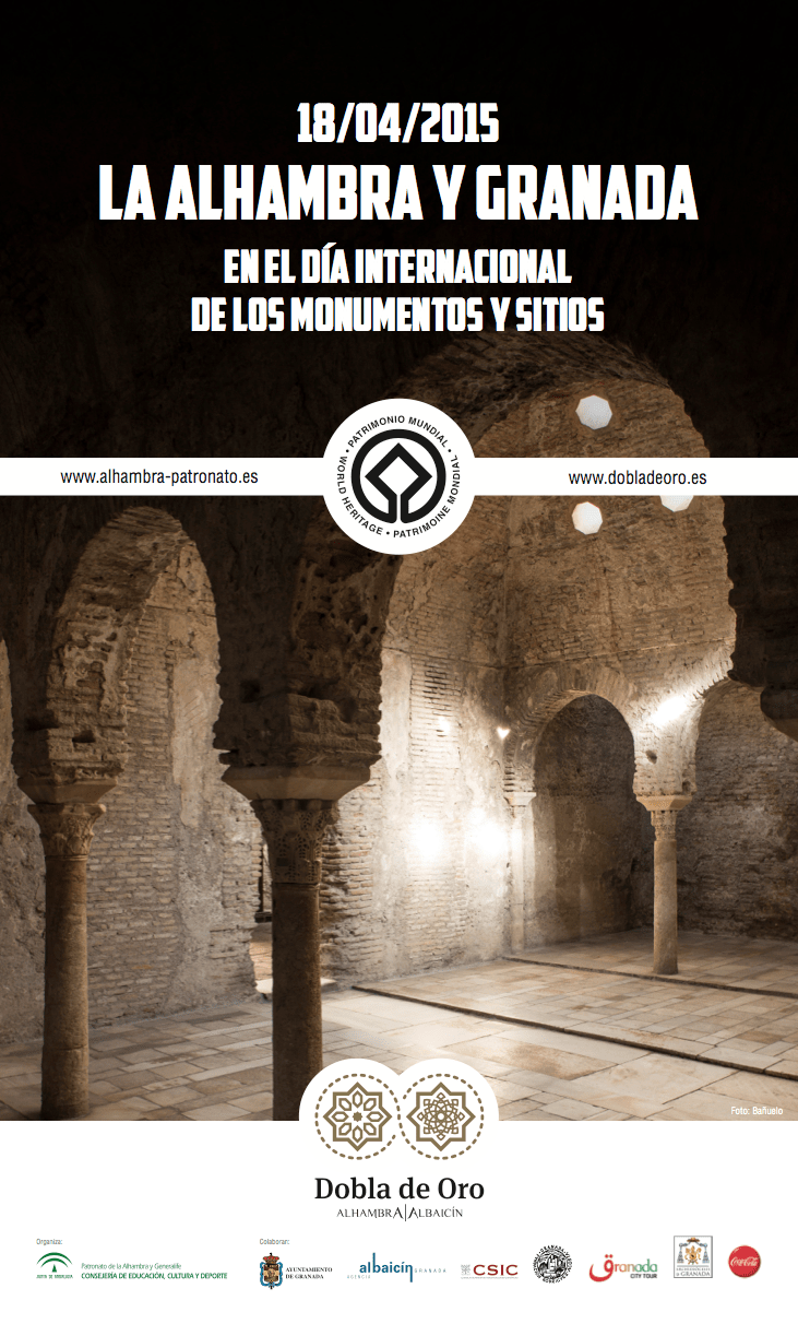 The Alhambra and Granada celebrate Monuments Day with free guided visits to the Dobla de oro Monuments
