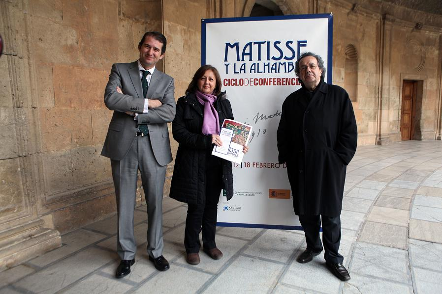 Matisse and the Alhambra under debate at the Palace of Carlos V