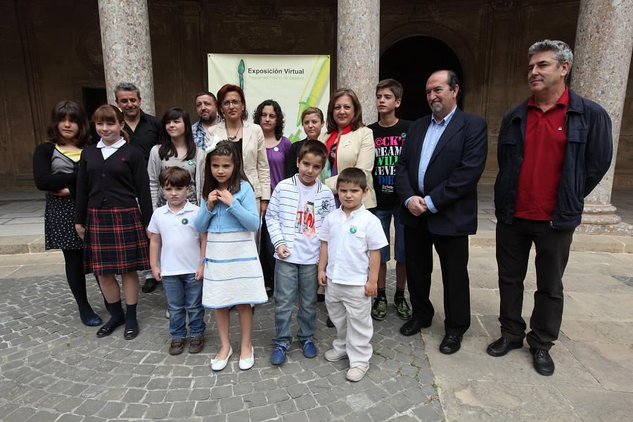 The Alhambra celebrates International Museum Day with an exhibition of Nasrid coins and the awarding of the Dibuja y conoce en el museo art competition prizes