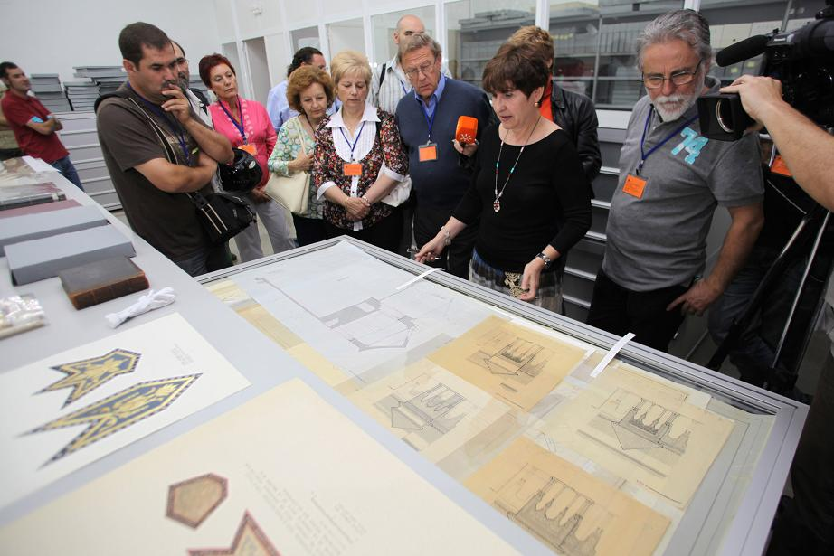 The activity in the Alhambra on the occasion of the International Archives & Libraries Day a full success