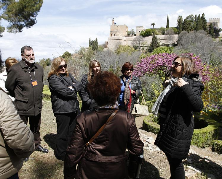 Alhambra celebrates International Day for Monuments and Sites with immensely popular free guided tours