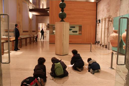 Draw in the Museum of the Alhambra