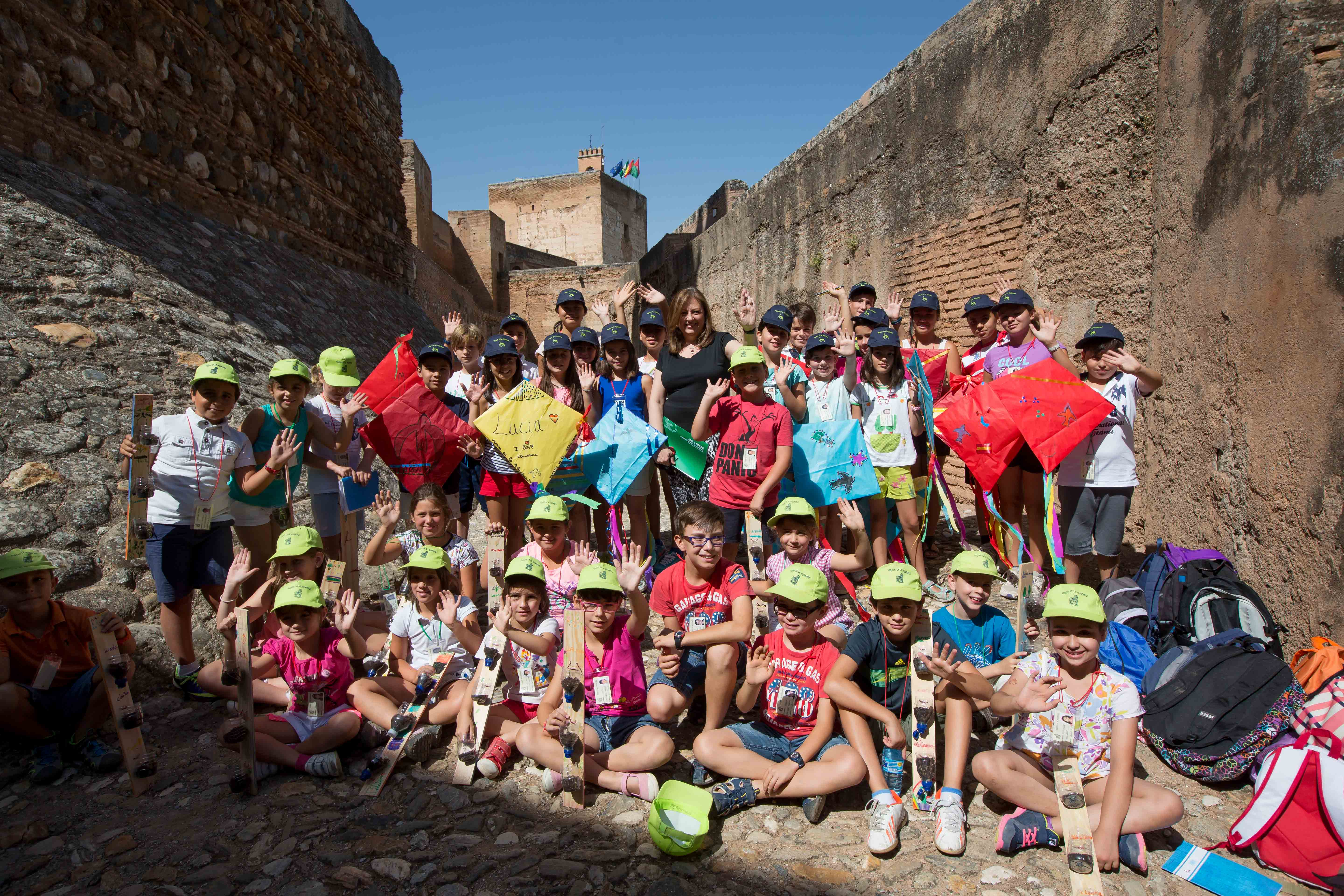 Discover the Alhambra through the eyes of a child