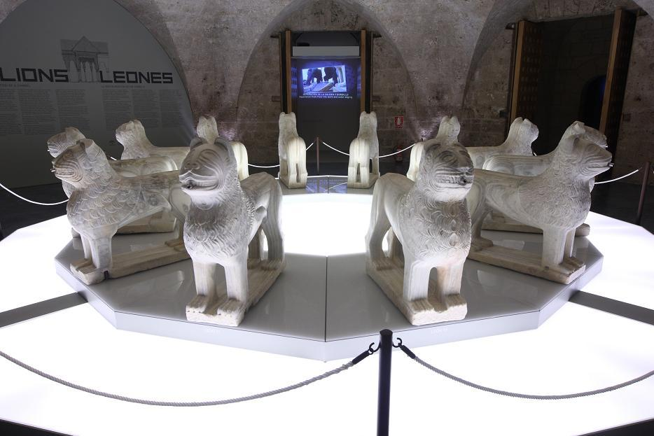 Last days of the exhibition Lions, the restoration of a symbol