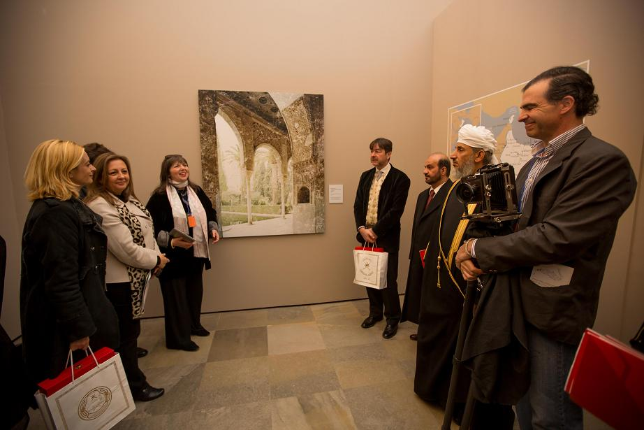 A photographic exhibition of Oman in the Alhambra