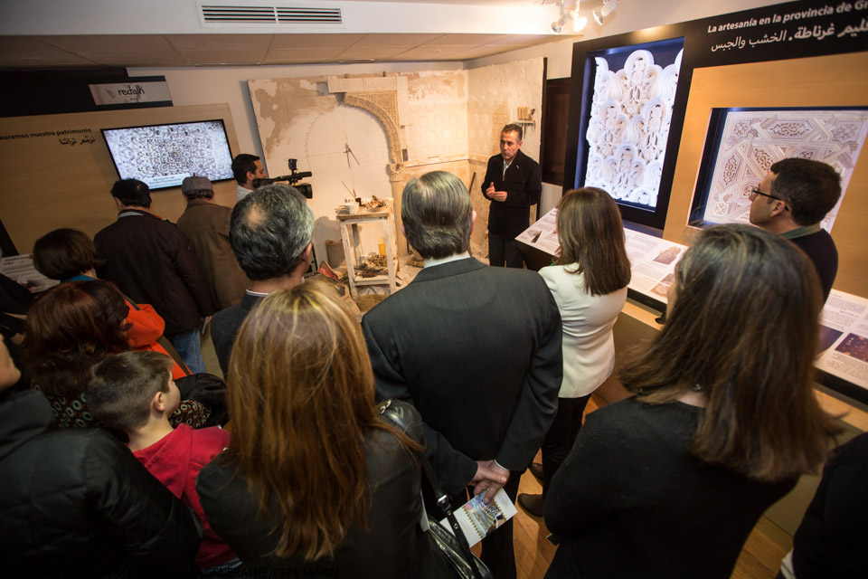 "Open Day at the Alhambra restoration workshops and guided visits to the ""Innovating Tradition"" exhibition"