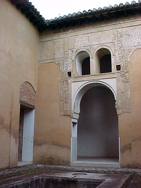 The Patronato de la Alhambra open to the public visits the nasrid house of the Royal Street on February
