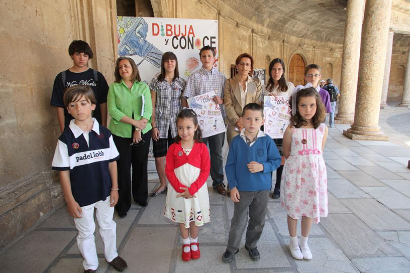The Patronato de la Alhambra y Generalife organizes a day with activities for children and youngsters during the International Museum Day