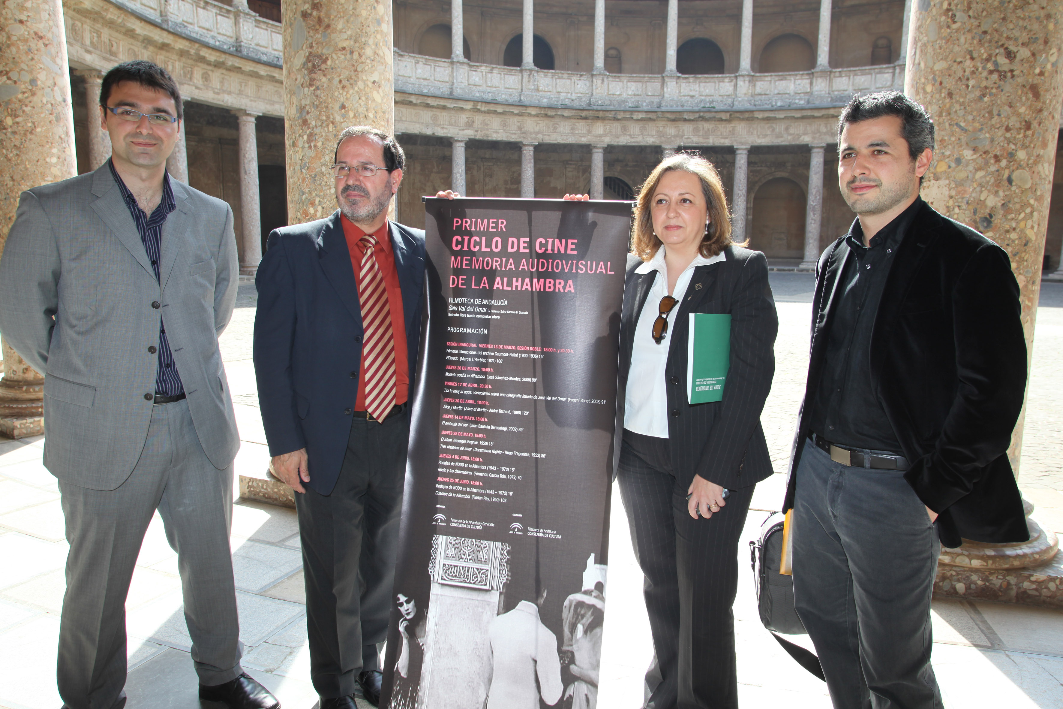 The Alhambra recovers its audio-visual memory
