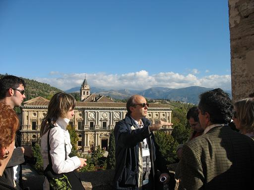 The Patronato de la Alhambra starts a new cycle of visits guided by specialists