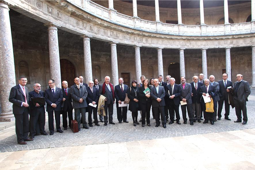 The Alhambra hosting the national presentation of the CICOP Foundation