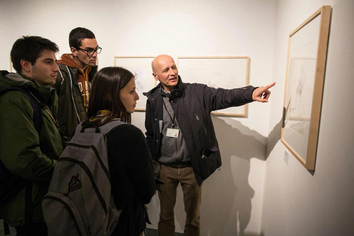 The exhibition 'ÁLVARO SIZA – VISIONS OF THE ALHAMBRA' arouses the interest of architecture schools in Europe and the united States