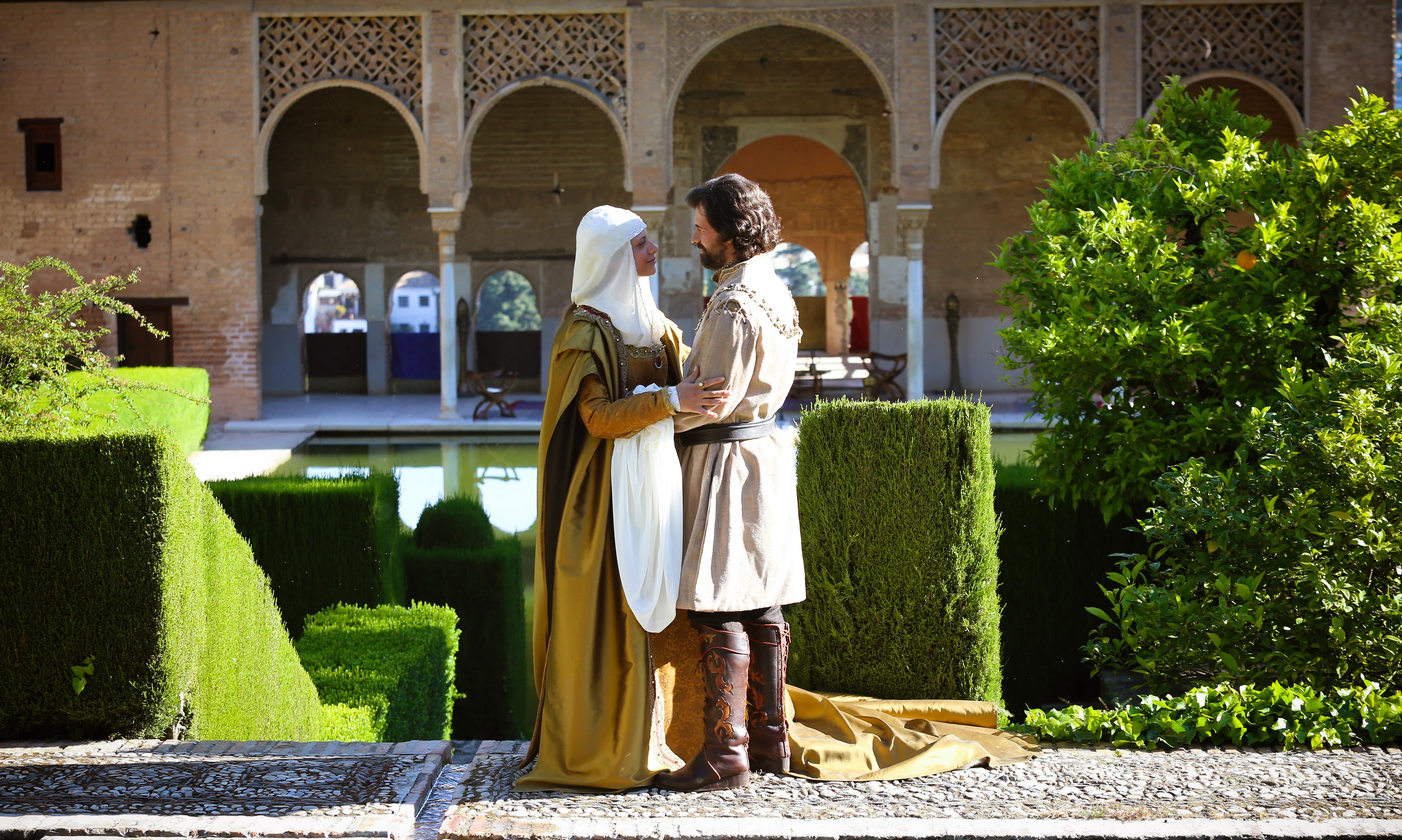 Isabella of Castile and Ferdinand of Aragon, love in the Alhambra