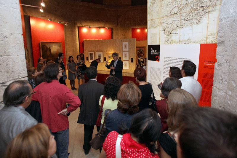 """More than 17,000 visitors in the exhibition """"Washington Irving and the Alhambra"""""""